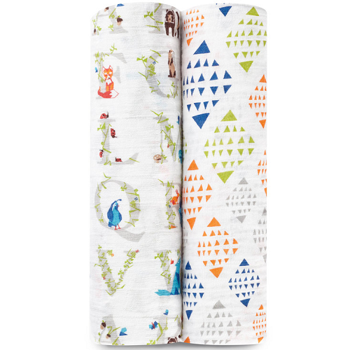 aden + anais Classic Muslin Swaddle (2pk) Paper Tales