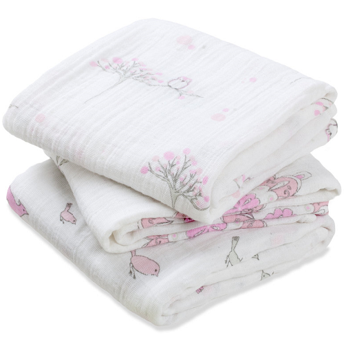 aden + anais Classic Musy Muslin Squares (3pk) For the Birds