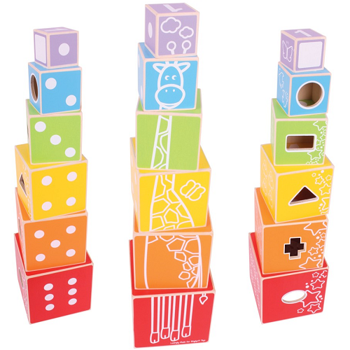 Bigjigs Stacking Cubes