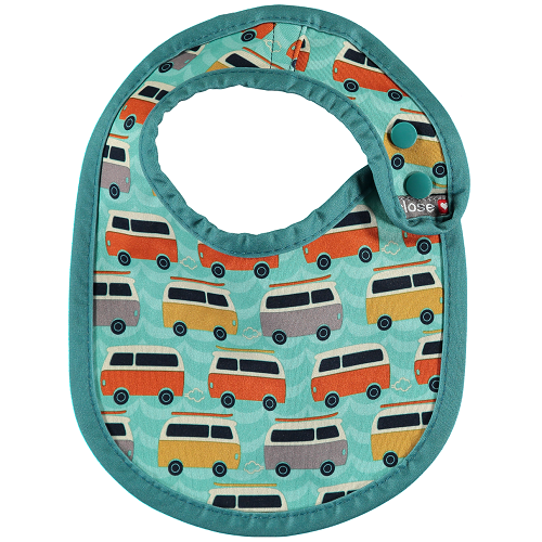 Close Pop-in Bib (Newborn) Stage 1 - Campervan Green