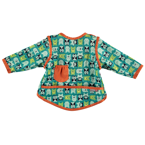 Close Pop-in Coverall Bib (6-18 months +) Stage 3 - Monster Herman