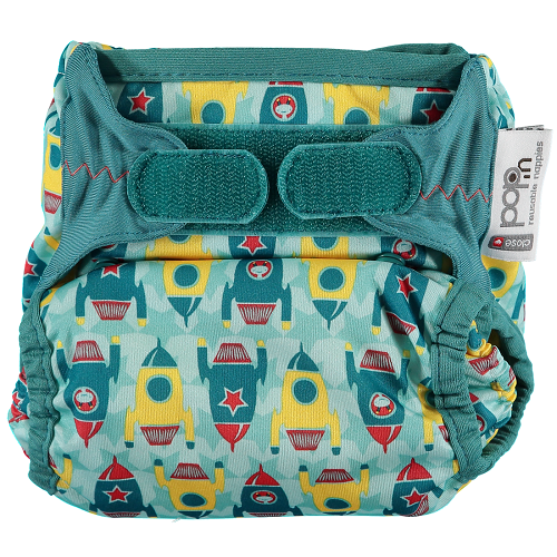 Close Pop-in New Gen V2 Single Nappy +bamboo (Rocket)