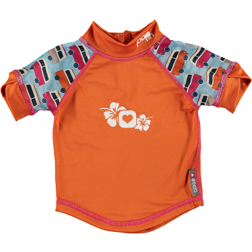 Close Pop-in Rash Vest - Campervan Blue