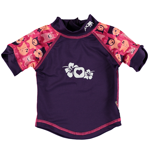 Close Pop-in Rash Vest - Monster Edie