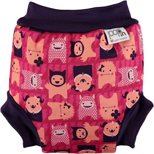 Close Pop-in Swim Nappy - Monster Edie