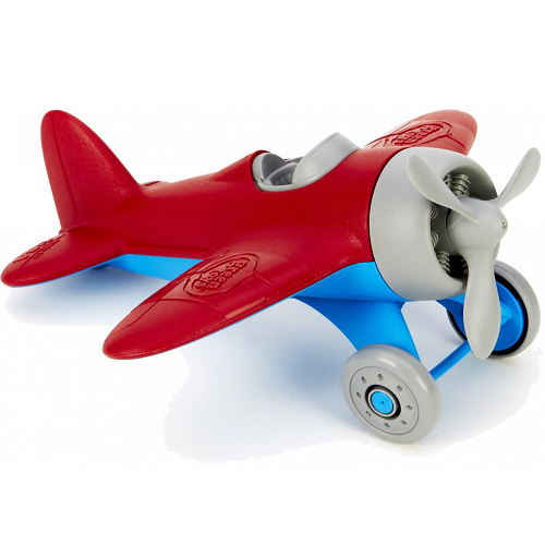 Green Toys Airplane (Red Wings)