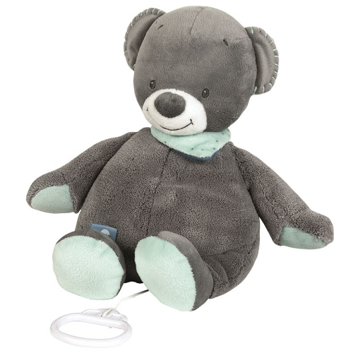 Nattou Musical Soft Toy - Jules the Bear