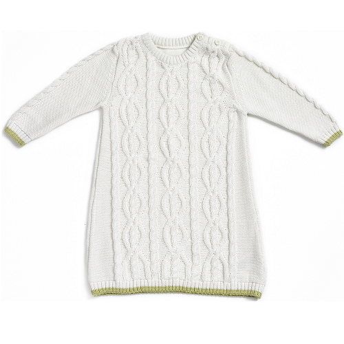 Natures Purest Kids Cable Knit Dress