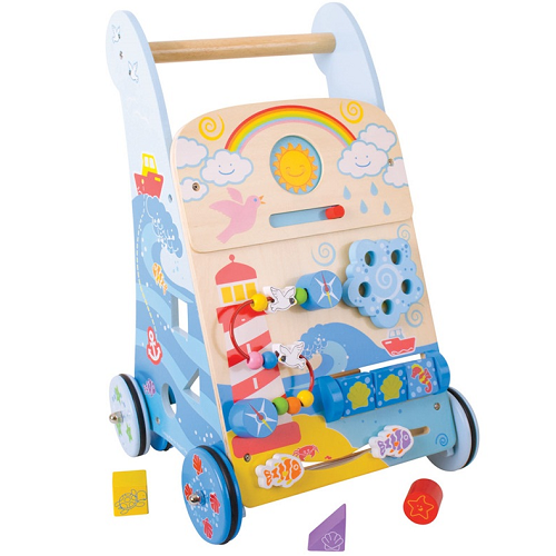 Bigjigs Activity Walker (Marine)