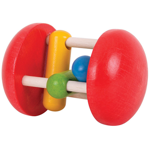 Bigjigs Wooden Rainbow Roller