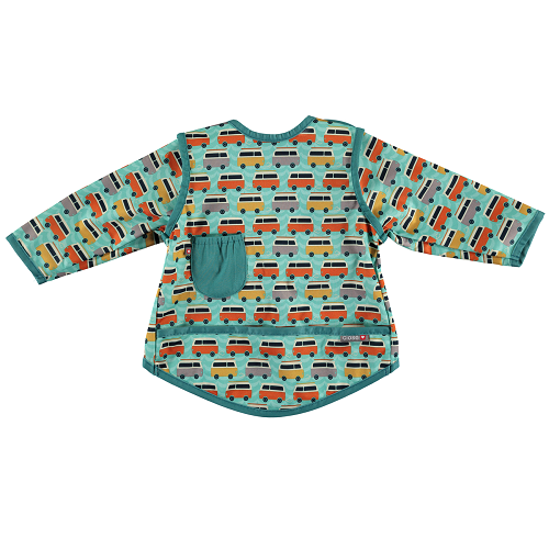Close Coverall Bib (18-36 months +) Stage 4 - Campervan Green