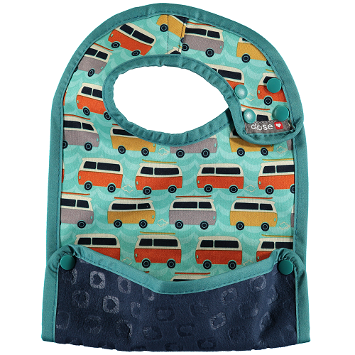Close Pop-in Bib (6 months +) Stage 2 - Campervan Green