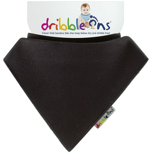 Dribble Ons Bib (Black)