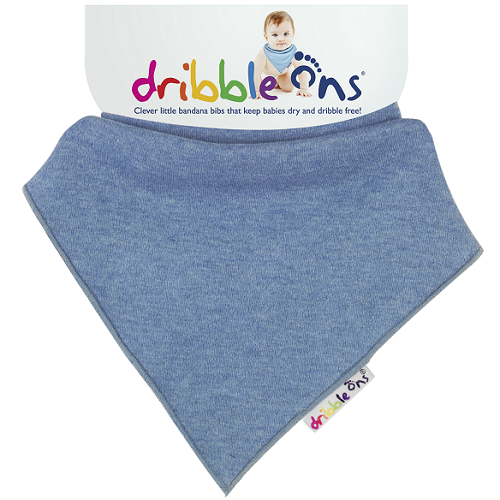 Dribble Ons Bib (Denim)