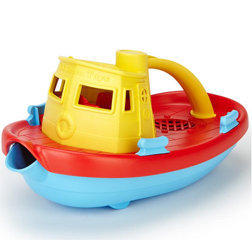 Green Toys Tugboat (Yellow Top)