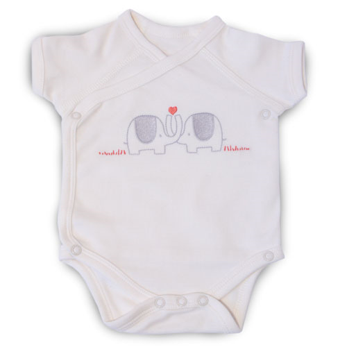 Natures Purest My First Friend Wrap Bodysuit